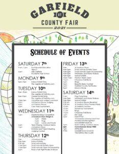 Garfield County Fair and Team Sorting